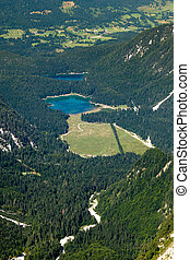 Fusine Lake, Tarvisio. Italy - The beautiful alpine lakes of...