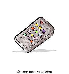 remote control cartoon