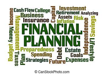 finansiell, planerande
