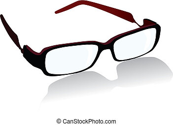 spectacles - Vector spectacles isolated on white background...