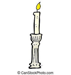 cartoon candlestick