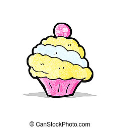 cartoon cup cake