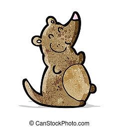 cartoon fat rat