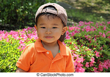 Japanese boy 1 year old
