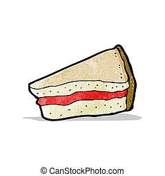 cartoon cake slice, - cartoon cake slice;