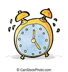 ringing alarm clock cartoon