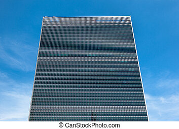 United Nations Building in New York - NEW YORK, USA - Jun...