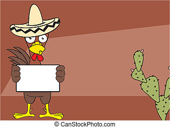 mexican chicken background5 - mexican chicken mariachi...