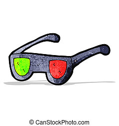 cartoon x-ray glasses