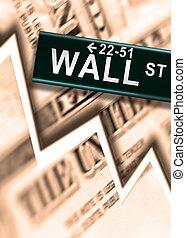 Wall Street  - Big Worldwide Financial Crash on Wall Street