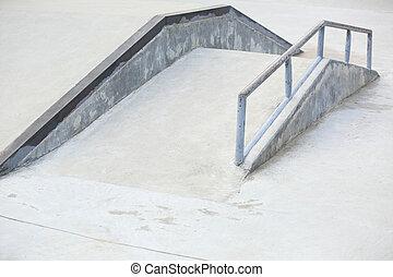 skatepark - empty skatepark ramp