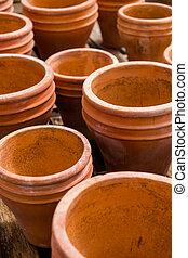 Planting pots