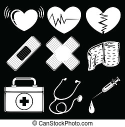 Different medical instruments