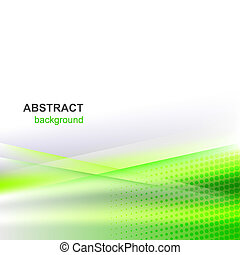 Abstract vector background - Abstract vector green...