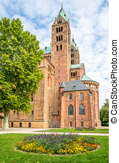 Speyer Cathedral - The Imperial Cathedral Basilica of the...