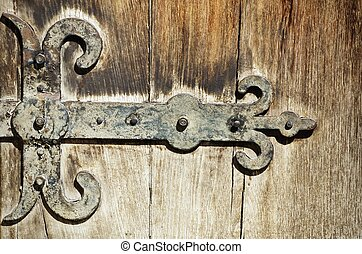 Vintage Door Hinges