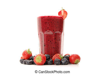 Smoothie - Delicious berry smoothie