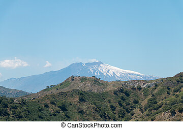 Mount Etna - The big active european volcano