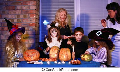 Sweets For Children On Halloween