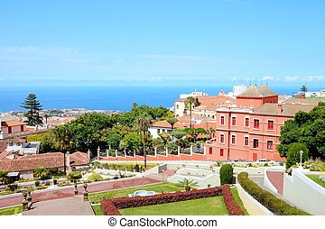 La Orotava, Tenerife - Botanical terraced garden in La...