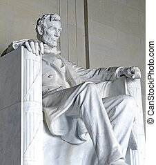 Lincoln Memorial,Washington DC, USA - Lincoln Memorial,...
