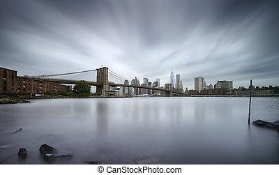 emlékmű,  Manhattan, Nap