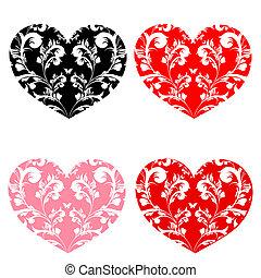 Amor, corações