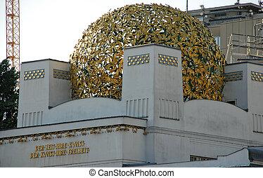 Secession Building, Vienna, Austria. - VIENNA, AUSTRIA -...