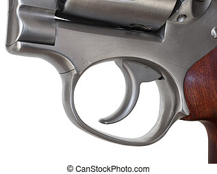Isolated trigger - Trigger on a double action revolver...