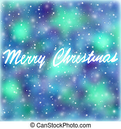 Merry Christmas greeting card, abstract festive background,...