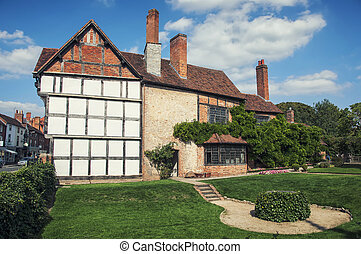 Stratford upon Avon - Old buildings of the Stratford upon...