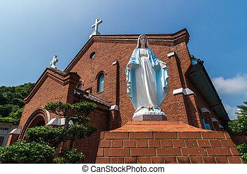 Kurosaki Church, Nagasaki Japan - Kurosaki Church, one of...