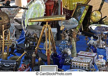 vintage telescope antiques