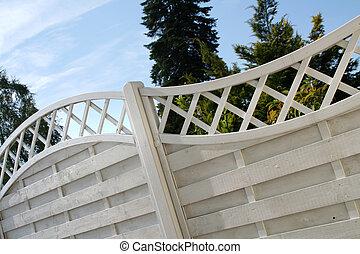 Garden fence - fence of a garden