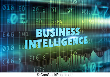 Business intelligence technology concept