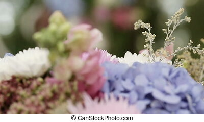 Flowers Arrangement - Beautifully decorated festive floral...