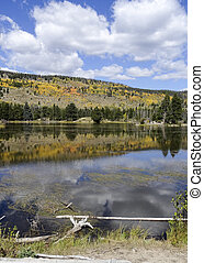 Autumn Rocky Mountain National Park - Sprague Lake In Rocky...