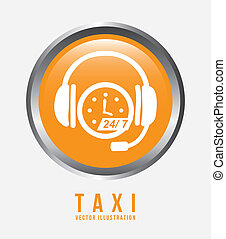 taxi design  - taxi graphic design , vector illustration