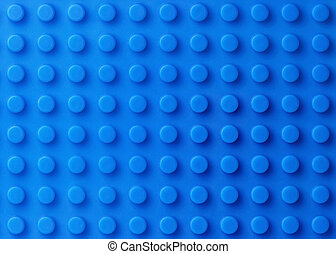 Blue plastic construction background