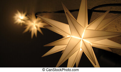 fairy lights - fariy star lights in the christmas time