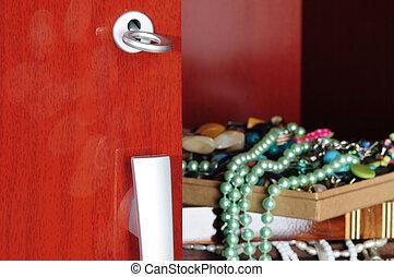 Jewels in a closet - Hidden jewels in a closet