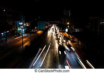 A car at the night