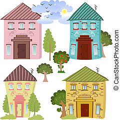 Collection of cute houses