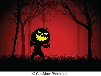 Pumpkin Ghost