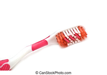 Tooth brush closeup