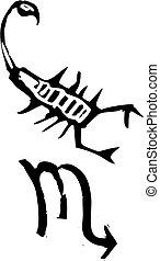 Primitive Zodiac Sign- Scorpio