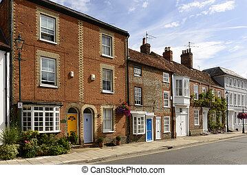 old houses in New Street, Henley on Thames - old houses in...