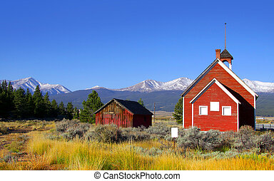 Old school house - Historic school house in Colorado