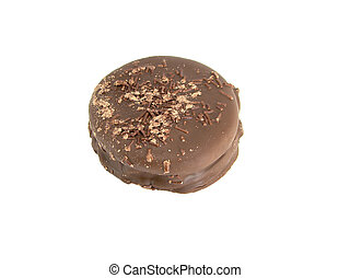 alfajor, delicious and tasty chocolate dessert from...