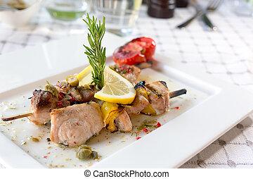 pez espada, filete